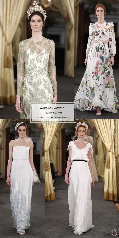 Desfile Atelier Couture 2017- Raquel Ferreiro. Post en Llega mi Boda