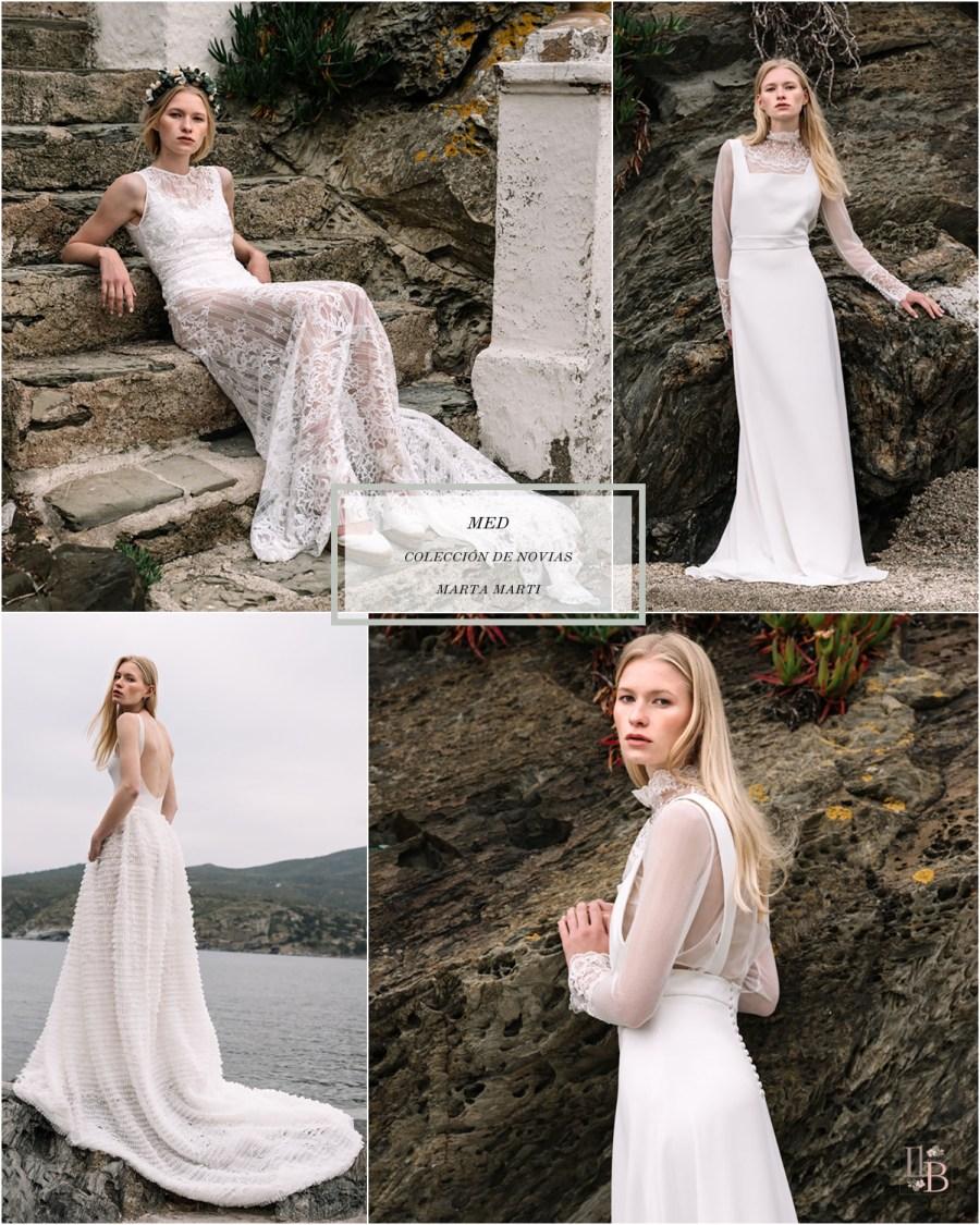 Med. : Nueva colección de novias de Marta Marti. Post en Llega mi Boda