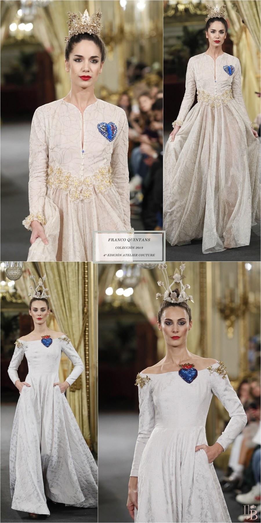 "Desfile Atelier Couture 2018- Franco Quintans: Colección ""Wonder Woman"""