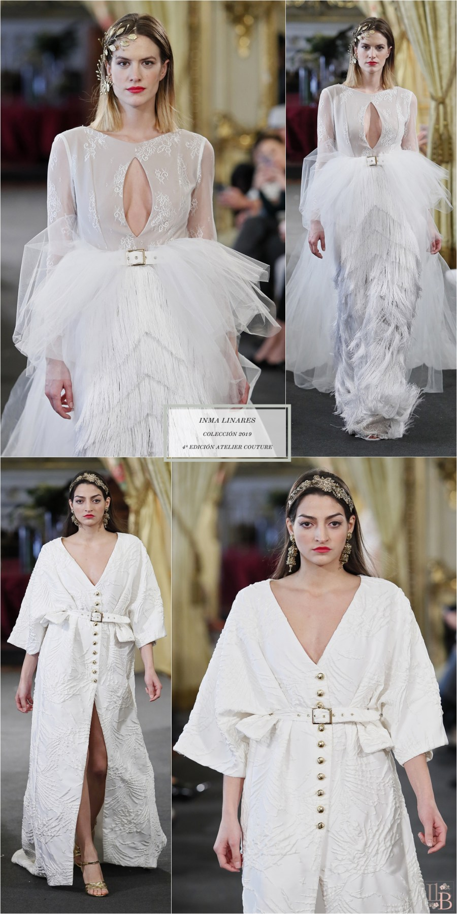 Desfile Atelier Couture 2018- Inma Linares: Colección Novias 2019
