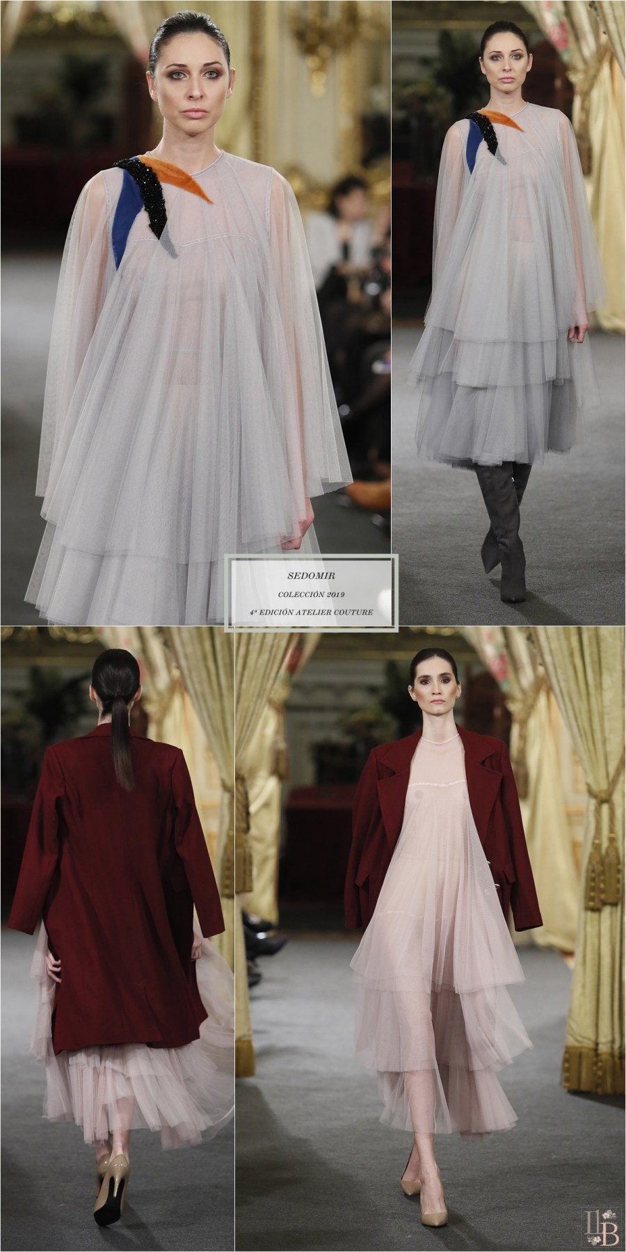 """Desfile Atelier Couture 2018- Sedomir Rodríguez de la Sierra: Colección """"Etérea"""""""