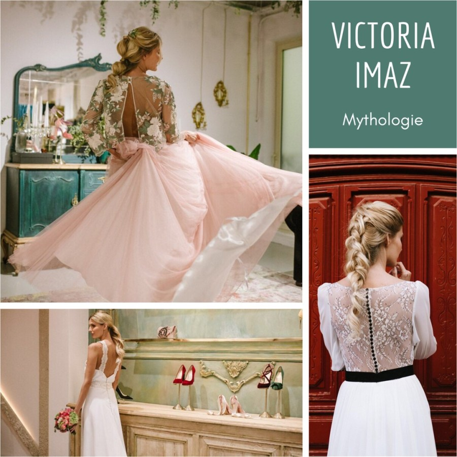 """Las nuevas propuestas de Victoria Imaz para novias con su colección """"Mythologie"""" en llegamibodablog.com"""