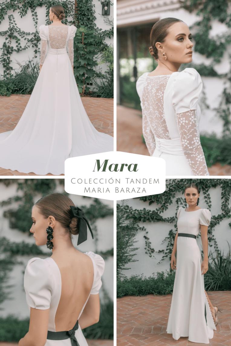 T Á N D E M, la nueva colección de María Baraza by llega mi boda. Mara
