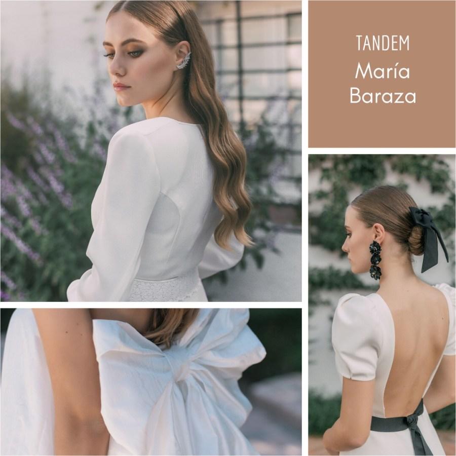 T Á N D E M, la nueva colección de María Baraza by llega mi boda