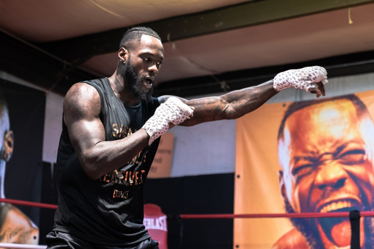 Deontay Wilder compared himself to Muhammad Ali