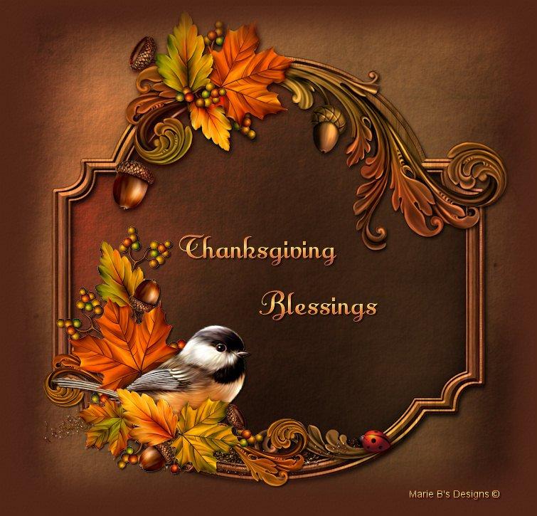 <b>Thanksgiving Blessing</b>