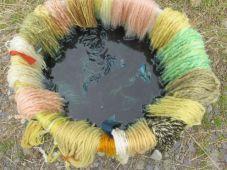 The indigo bath
