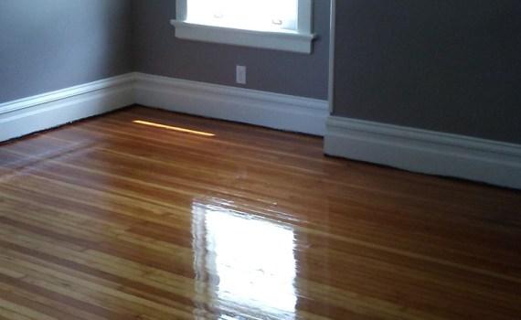 Waterlox floor finish