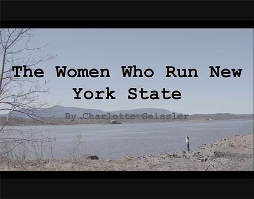 The Women Who Run New York State