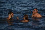 'Swimming' in the ocean :)