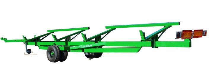 carro cosechadora 1 eje con ruedas gemelas