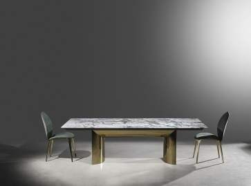 marble table by visionnaire