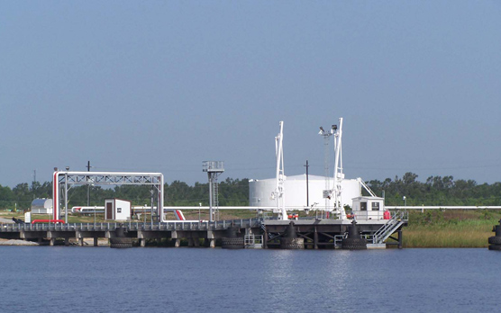 Barge Dock Loading Facility