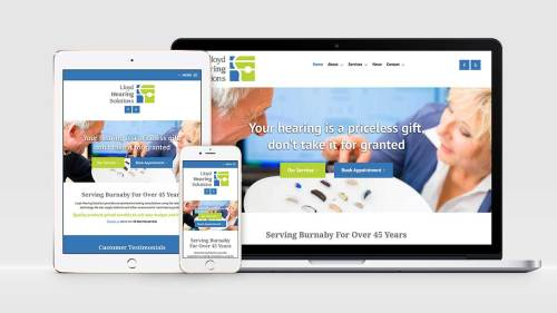 Lloyd Hearing Solutions launches new website built by Glacier Media Digital