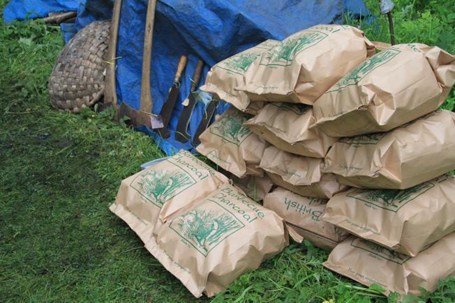 charcoal sacks