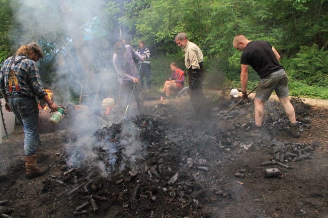 Uncovering the earth burn