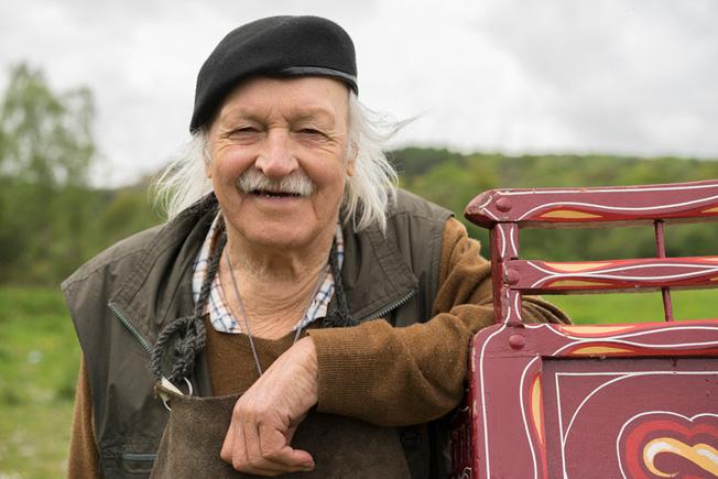 Walter wagon portrait