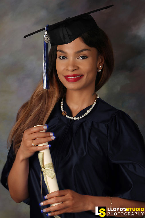 Graduation Portraits , with diploma photos