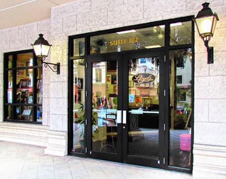 Lloyd's Studio Photography - photo studio contact - our front door