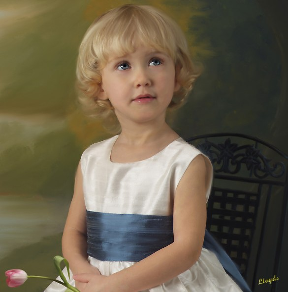 Classic Oil On Canvas Portraits