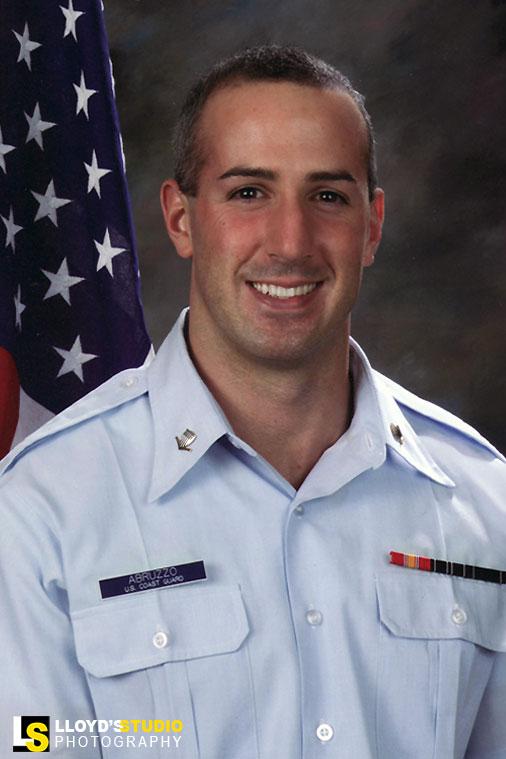 Military Portraits - military promotion portrait - Abruzzo United States Coast Guard