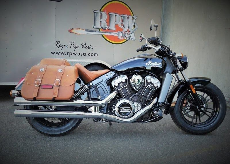 rpw 2 into 2 long slip on mufflers for indian scout