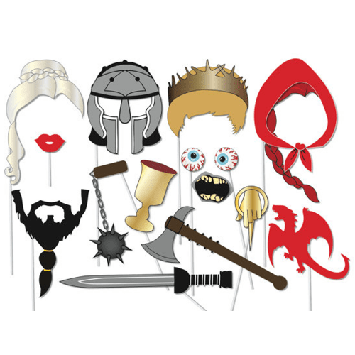 Game of Thrones inspired Photo booth Props Set