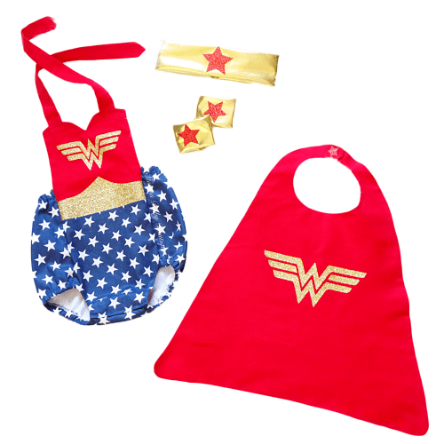 Wonder Woman First Romper