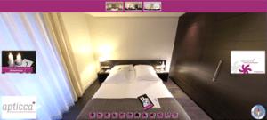 Inmersión 360 en hoteles y restaurantes