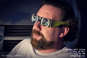 Annular Solar Eclipse_Ring of Fire_05 20 2012_ABQ NM_Dave in his viewing glasses 01