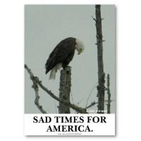 It's a sad day in America. North Carolina's Amendment One has passed