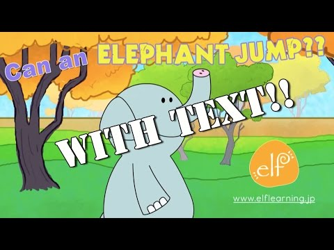 Funny Zoo Animals Song with Lyrics – Can an Elephant Jump? – ELF Learning