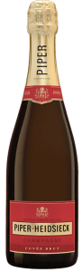 Piper-Heidsieck Champagne Cuvée Brut is a blend of several vineyards and vintages produced in Reims, FR.