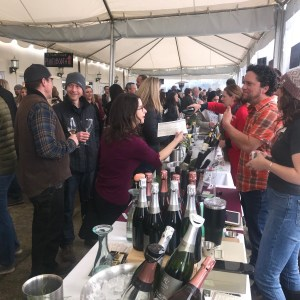 Willamette Valley's Anne Amie Vineyards hosted the 2019 Oregon Bubbles Fest, which featured over 25 Oregon sparkling wine producers.