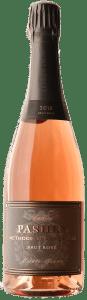 Tristaetum Pashey 2016 Brut Rosé Oregon sparkling wine.