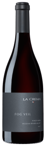 La Crema Fog Veil Pinot Noir is a single vineyard wine produced from grapes grown on the Santa Rosa Plain.