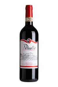 Peteglia Sangiovese wine is made in Tuscany.