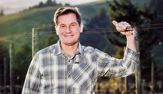 Sebastien Marquet of Crush2Cellars in Oregon's Willamette Valley.