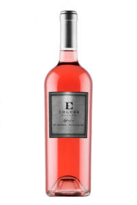 Ehlers Estate Sylvanie Rosé is a blend of Cabernet Sauvignon and Cabernet Franc produced in Napa.