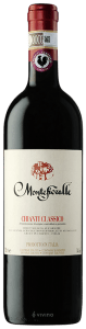 Montefioralle Chianto Classico is made from Sangiovese, Canaiolo and Colorino