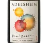 Adelsheim Brut Rosé is made from 62% Pinot noir and 38% Chardonnay.