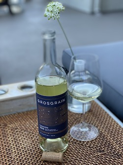 Grosgrain Albariño is sourced from Phillips Vineyard in Walla Walla.