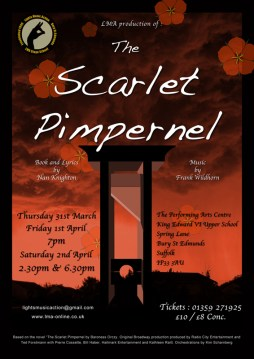 The Scarlet Pimpernel 2016 / LMA Senior Production