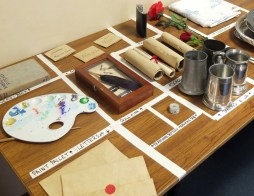 The Scarlet Pimpernel / Props Table - Photography © Gillie Robson