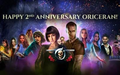 Happy 2nd Anniversary Oriceran Universe!