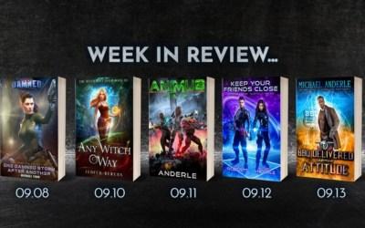 Week In Review – September 8-13, 2019