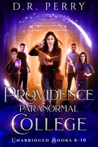 Providence paranormal college omni #2 ebook cover
