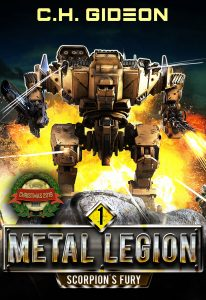 Metal Legion ebook cover