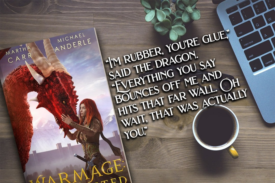 Warmage quote banner