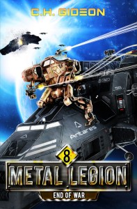 Metal Legion ebook cover